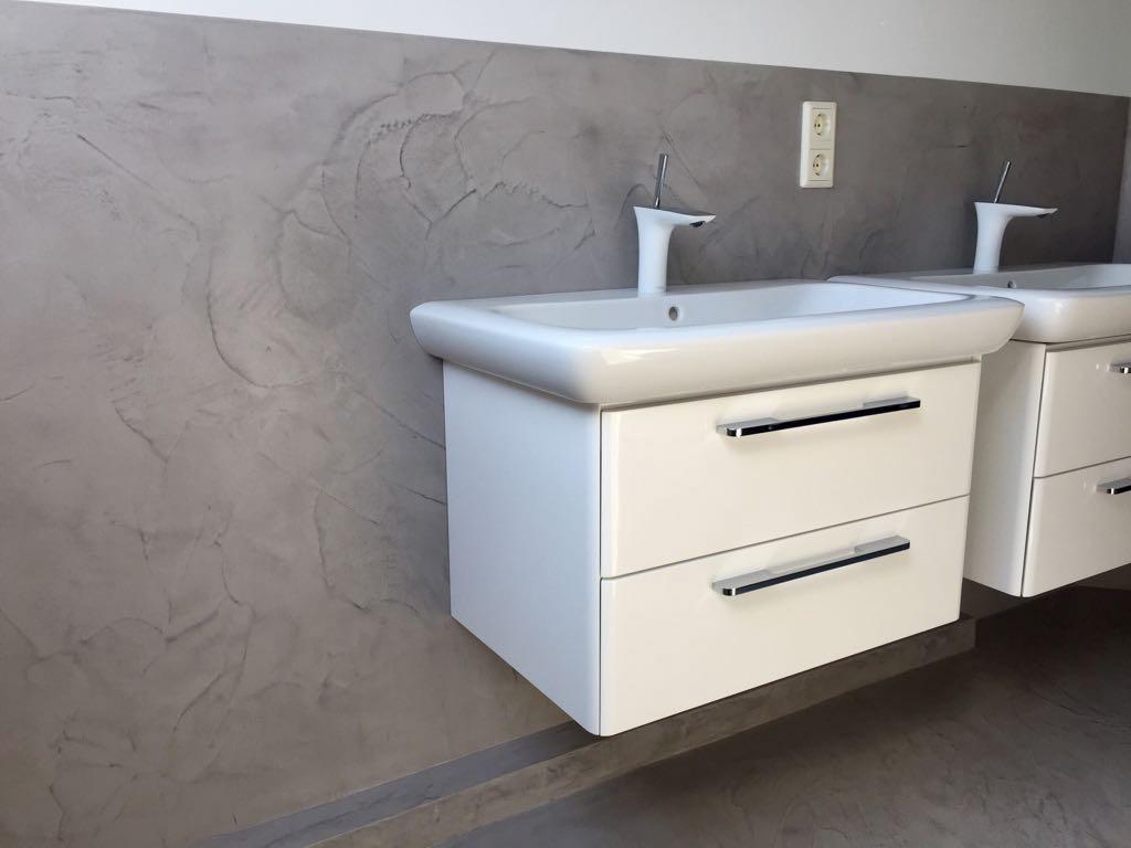 Betonfußboden Im Bad ~ Beton optik als wand und bodenbelag steinteppich in nrw