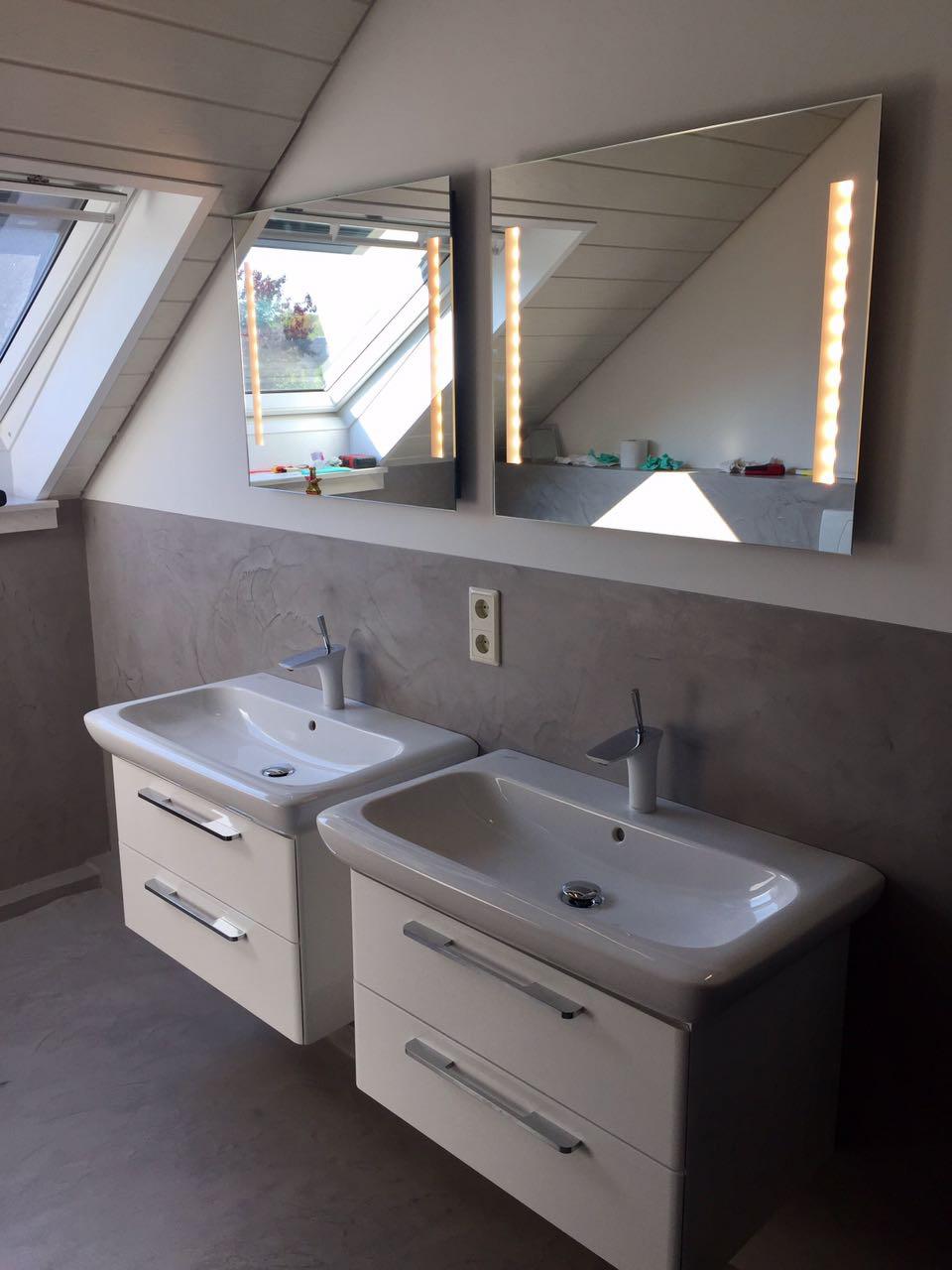 Beton Optik als Wand- und Bodenbelag | Steinteppich in NRW